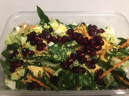 crunchy protein salad