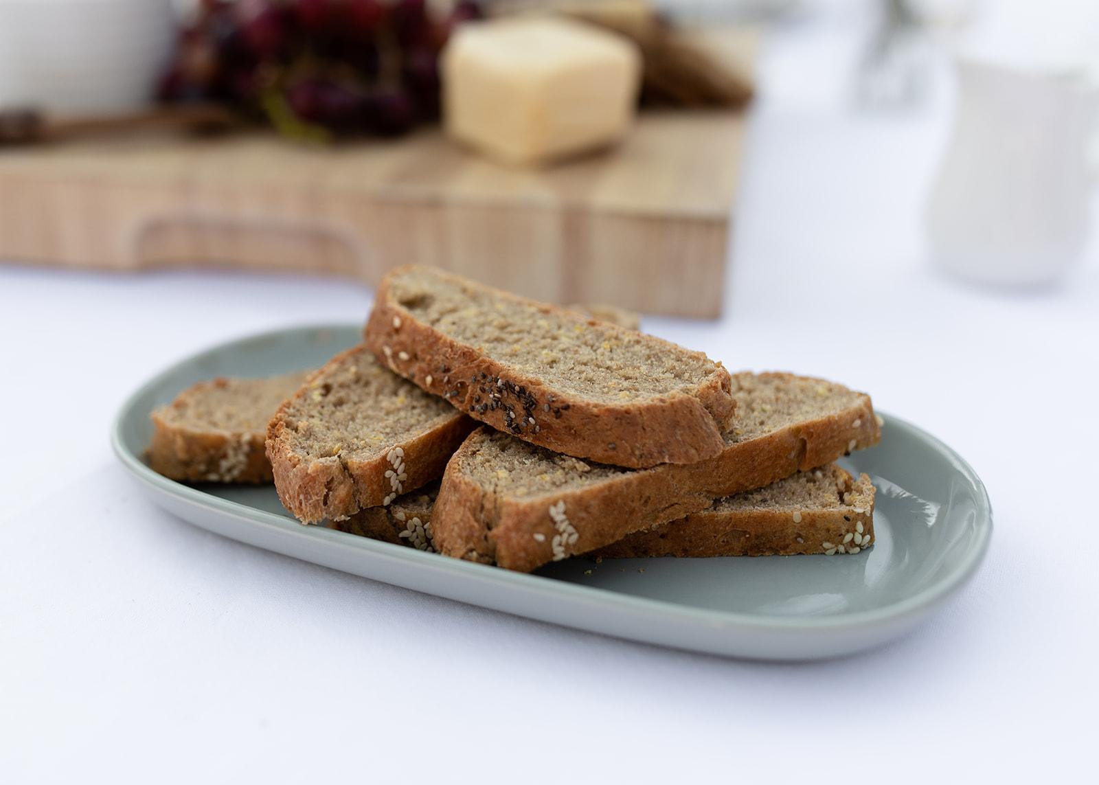 Lupin gluten free bread