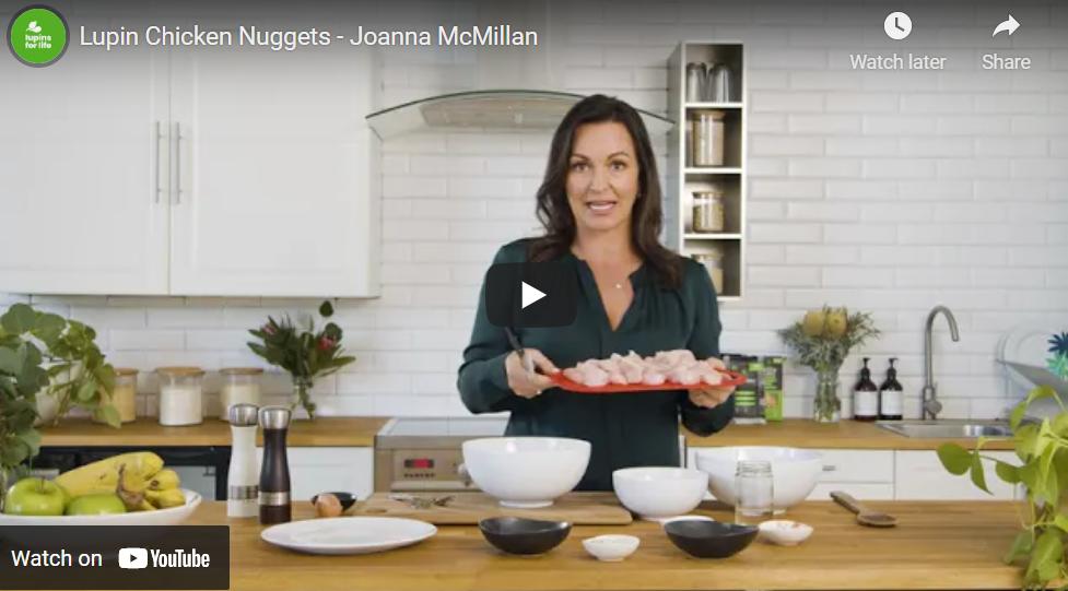 Joanna McMillan Lupin Chicken Nuggets Video